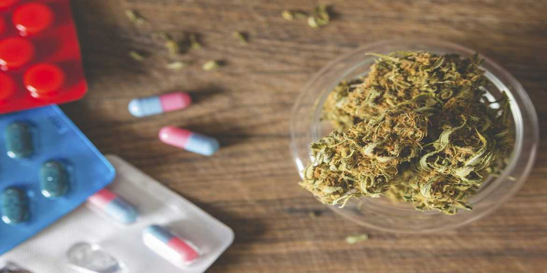 cannabis antidepressants