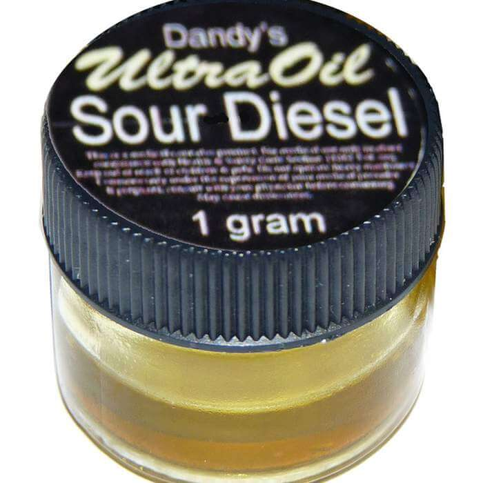 Sour Diesel Cannabis Oil