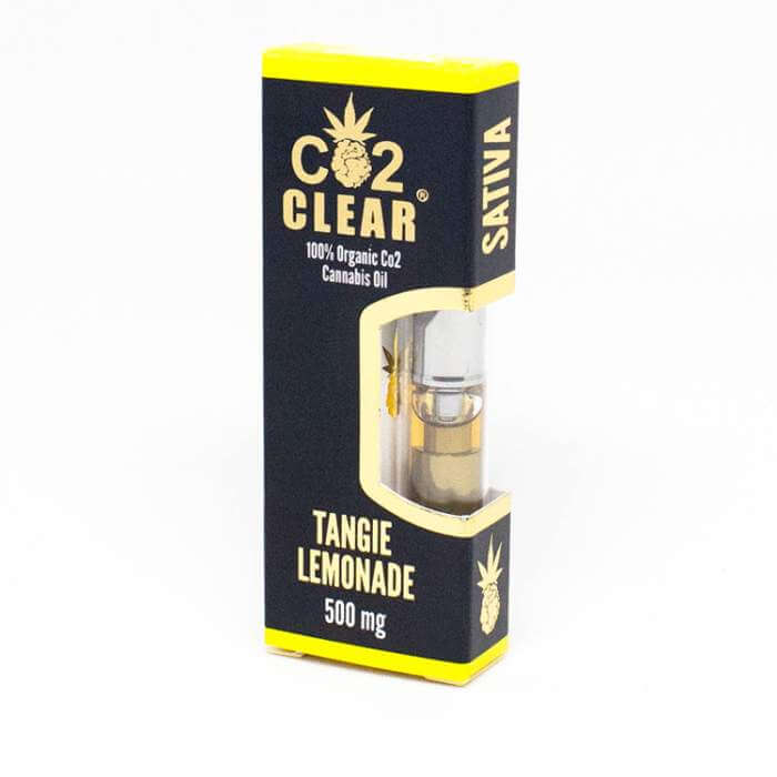 CO2 Clear Tangie Lemonade Vape Oil Cartridge